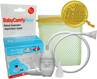 BabyComfy Nasal Aspirator — The Snotsucker — Hygienically & Safely..