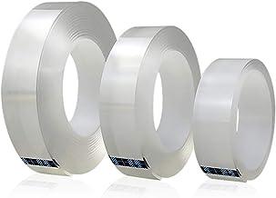 Superlijm Magic Tape Herbruikbare Dubbelzijdige Lijm Nano Traceless Tape Verwijderbare Sticker Wasbare Adhesive Loop Disks...