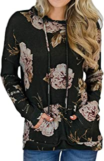 Women Fashion Long Sleeve Shirts Ethnic Style Casual Tunic Loose Print Strappy Sweatshirt Tops Pleated Blouse
