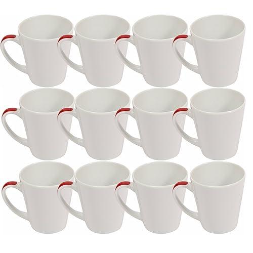 f689c8097db White Mugs Set of 12: Amazon.co.uk