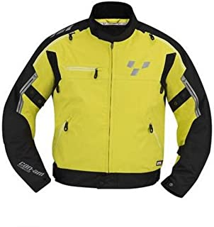 Can-Am Spyder New OEM Men's Cruise Jacket XL Hi-Vis Yellow, 4406061226