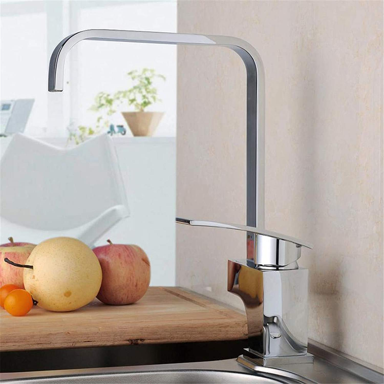 Wasserhahn Küche Waschbecken Badezimmer Voller kupferner einzelner kalter oder heier mischender Hahn mit einem Schlüssel-kreativen dauerhaften kalten Küchen-Hahn