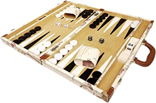 Middleton Games Map Backgammon Set, 18-Inch