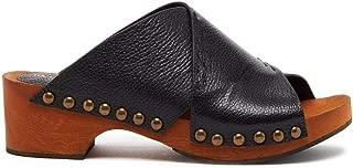Kelsi Dagger Brooklyn Women's Sands Tanned Leather Wood Clog
