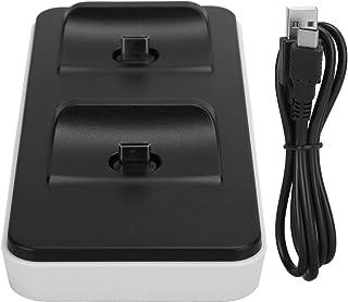 ABSプラスチック急速充電ゲームパッド充電器ゲームパッド充電器高速ブラケット2ポートUSB3.1 type‑C TP5‑0505、ゲーム充電器用、PS5用
