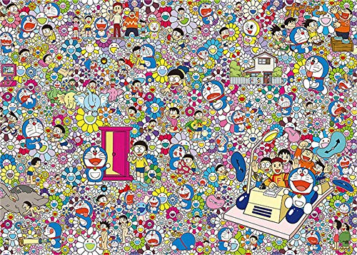 Jrompecabezas Adultos 1000 Piezas ,Puzzles,Adults,Games Colección Doraemon