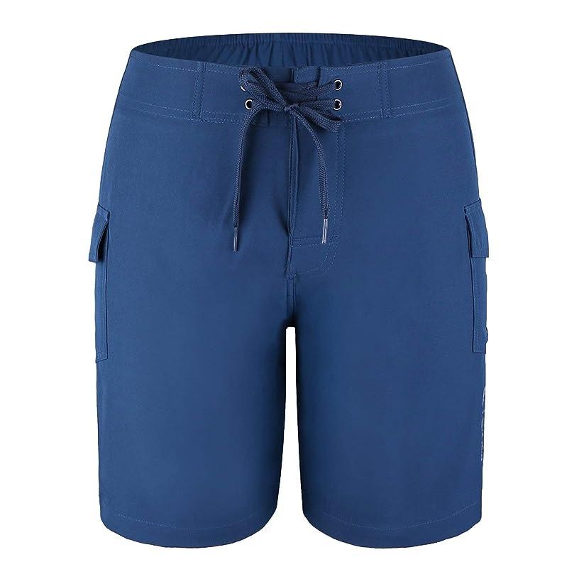 Baleaf Big Boys' Quick Dry Swim Trunks UPF 50+ Beach Board Shorts Mesh Lining with Side Pockets