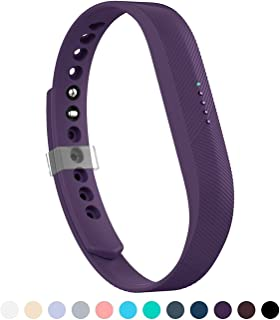 12 Colors Bands for Fitbit Flex 2, Replacement Band for Fitbit Flex 2 Accessories Silicon Wristbands w/Fastener Clasp Fitness Strap for Original Fitbit Flex 2, No Tracker