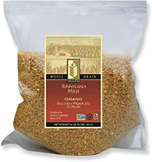 Grano - Golden Pearled Durum, 4lbs (2 pack)