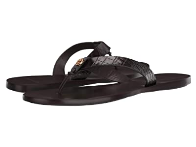 Tory Burch Manon Thong Sandal (Brown) Women