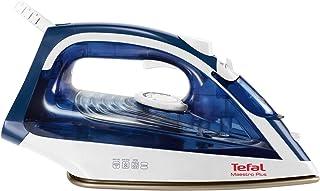Tefal FV1840E6 Maestro Plus Ceramic Soleplate Steam Iron, 2300 Watt - Blue and White