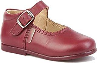 Para esRojo Merceditas Zapatos Complementos NiñaY Amazon XZTPiOku