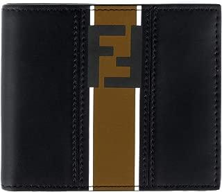 Forever Men's Black Leather Bi-fold Wallet 7M0169 A1R2