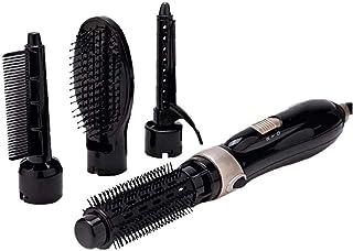 El pelo del cepillo de pelo Peine Secador de pelo cepillo profesional Fashion Styling Brush Hombres Mujeres enchufe de la UE