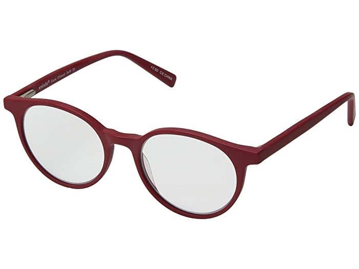 Case Closed (Matte Red) Reading Glasses Sunglasses