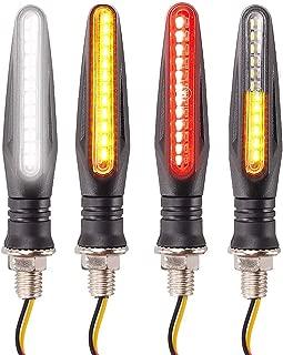 MuZuZi 12V Auto-Hochleistungs-Bremslicht-Warnlicht LED-R/ücklichtlampe 24LED Rot