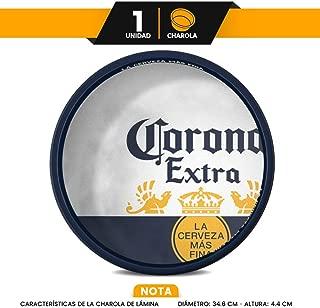 "Charola Corona Extra"" La Cerveza Más Fina"""