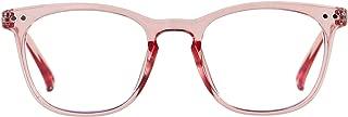 Blue Light Blocking Glasses Women Men Computer Reading Clear Bluelight Blocker Eyeglasses Frame ANDWOOD AR001