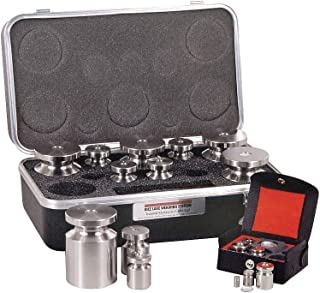 Rice Lake Weighing Systems - 12528TR - Calibration Weight Set, Metric, 2000g-1mg