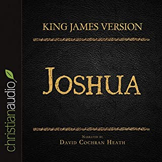 Holy Bible in Audio - King James Version: Joshua audiobook cover art