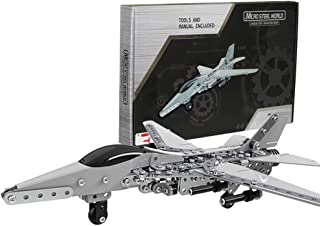GGIENRUI Fighter Jet Airplane Model Building Blocks 452pcs Army War Bomber Plane Models