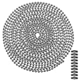 11X argento perle Pull catena prolunga con spina 10 piedi perle catena