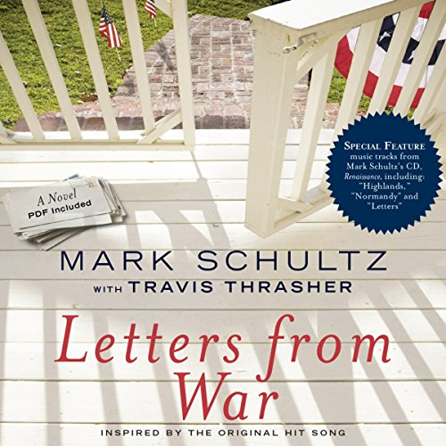 Letters from War audiobook cover art