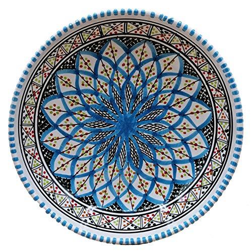 Etnico Arredo Piatto Ceramica Portata Decorativo Marocchino Tunisino 0611200910