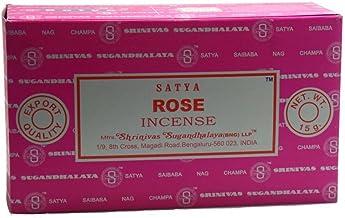 Satya Sai Baba Nag Champa Rose Incense Sticks 15 g X 12 pks