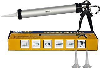 Sausage Caulk Gun, 20 oz Foil Pack / 10 oz Cartridge Convertible, 18:1 Thrust, AWF-Pro