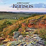 Kansas Wild & Scenic 2021 7 x 7 Inch Monthly Mini Wall Calendar, USA United States of America Midwest State Nature