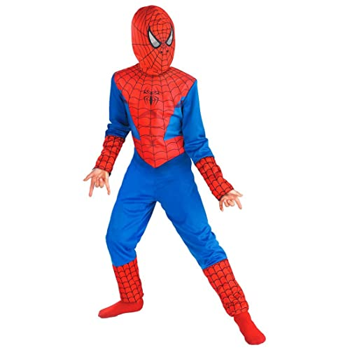 7be923f96d5a4 Fancydresswale Spiderman Costume For Kids (Medium (4-6 Yrs) - Blue And