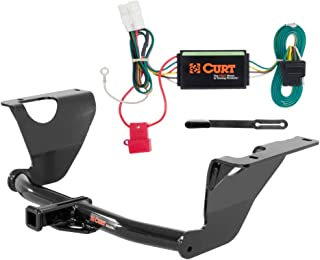 CURT Class 2 Trailer Hitch Bundle with Wiring for 2014-2016 Subaru Outback - 12136 & 56040
