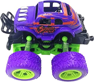 letosan Inertial Four-Wheel Off-Road Vehicle Shock-Proof and Shock-Absorbing Boys Simulate Toy Stunt Rocking Vehicle