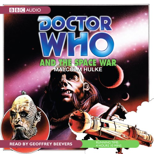 Doctor Who and the Space War audiobook cover art