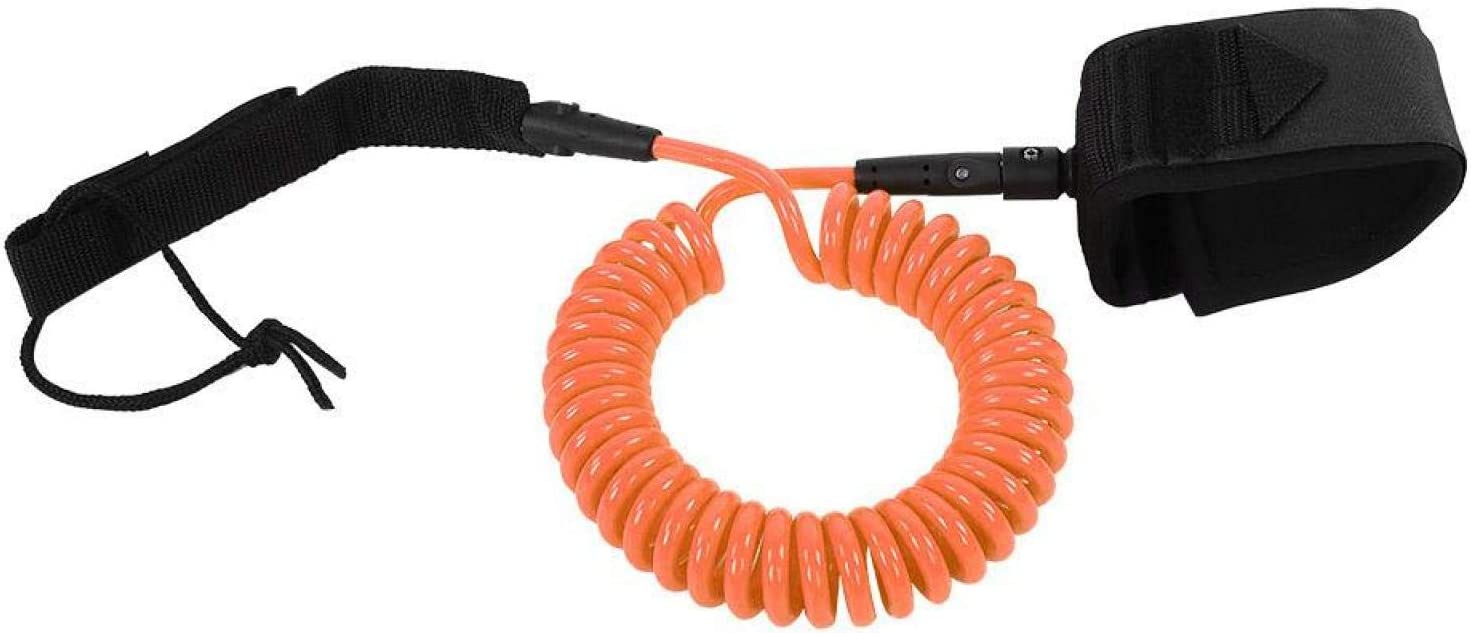 RANNYY store Surfing Coil Bodyboard TPU Wrist Leash Coiled Surfboard It is very popular W