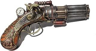 steampunk gun with holster