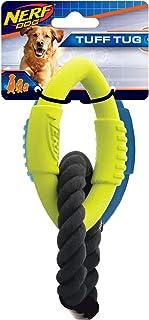 Nerf Dog Medium to Large 3-Ring Tug Interactive 9-Inch Rubber Dog Toy
