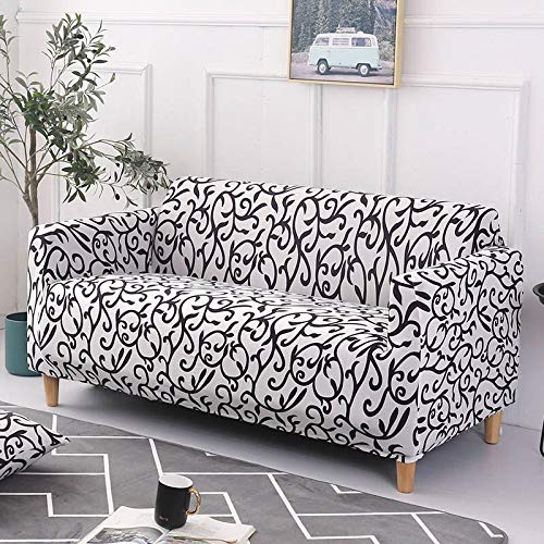 PPOS Colors For Choice Sofa Cover Stretch Seat Couch Covers Loveseat Armchair Funiture Slipcovers Sofa Towel D6 4seats 235-300cm-1pc