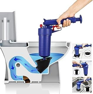Feile Home High Pressure Air Drain Blaster, Pipe Blaster Air Gun, Sink Plunger, Perfect for Bath Toilets, Bathroom, Shower, Kitchen Clogged Pipe Bathtub
