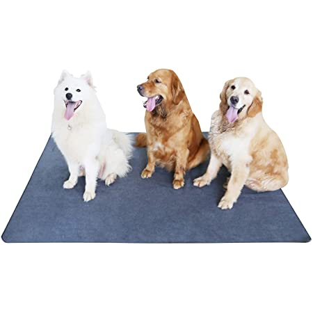 Non-Slip Dog Pads 65 x 48, Washable Puppy Pads with Fast Absorbent, Waterproof for Training, Whelping, Housebreaking, for Playpen, Crate, Kennel