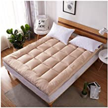 Soft Mattress Winter Cotton Air Conditioner Thin Quilt Thickened Cotton Mattress Breathable Pad for Hotel Home,B,90 * 200c...
