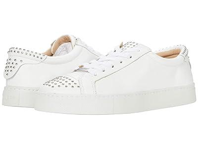 J/Slides Lulu (White Leather) Women