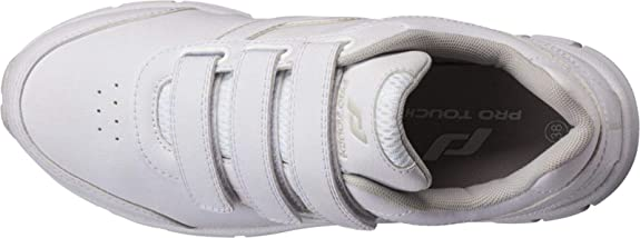Pro Touch Womens Mens Casual Velcro Shoes City Trainer III VLC Black