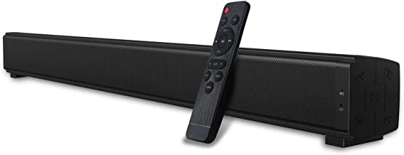 Dual Built-in Subwoofers Sound Bars Speaker for TV, 32-Inch Home Theater TV Wired & Wireless Bluetooth 5.0 Stereo Soundbar...