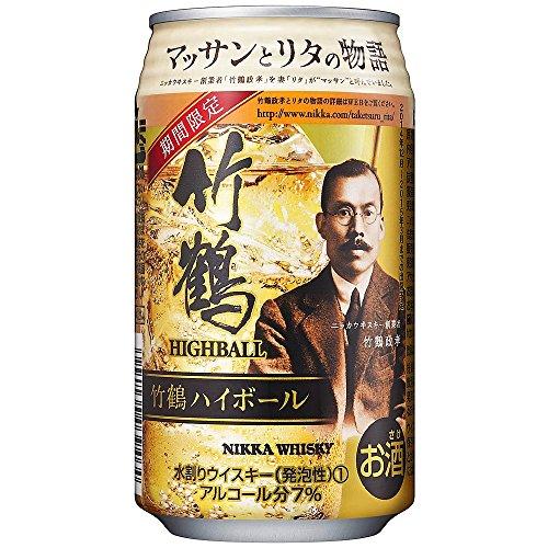 竹鶴ハイボール缶350ml [ ウイスキー 日本 350mlx24本 ]
