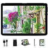 MEBERRY Tablet 10 Pulgadas HD IPS Ultra Rápido Android 10 Pro 8-núcleos 1.6Ghz Tableta 128GB Expandible - Certificación Google GMS - 8000mAh | WI-FI | Bluetooth | GPS(5.0+8.0MP Cámara), Gris