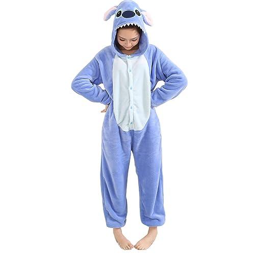 55cd1b279e8e Duraplast Unisex Adult Pajamas Costume Onesie Flannel Halloween Cosplay  Hooded Jumpsuit