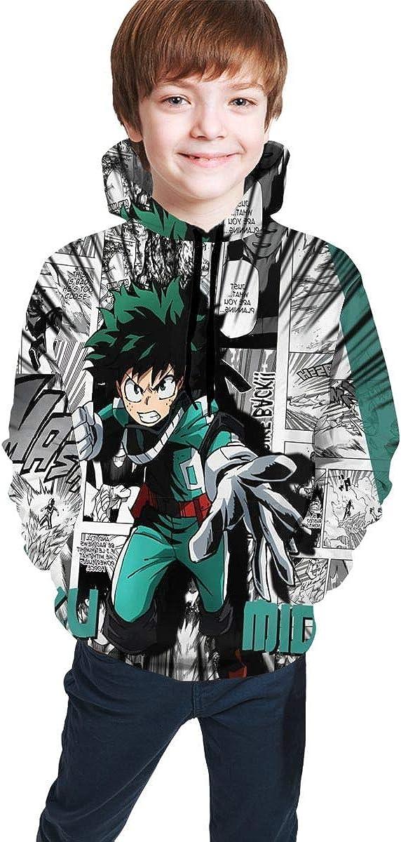 SHOEWPQIA Boy's 3D My Hero Academia Background Deluxe Thin supreme S Deku Comic