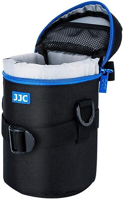 PROfoto.Trend/JJC 80 x 170mm Resistente al Agua Deluxe Funda para Objetivo con Correa [Ver Descripción para Compatibilidad Objetivo]